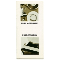 Null Command - User Manual